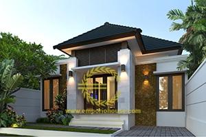 Desain Rumah 1 Lantai 3 Kamar Tidur Lebar 10 meter