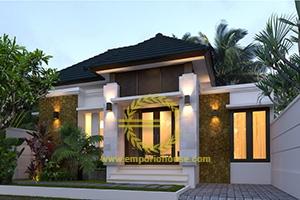 Desain Rumah 1 Lantai 3 Kamar Tidur Lebar 11 meter