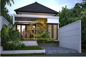 Desain Rumah 1 Lantai 3 Kamar Tidur Lebar 6 meter