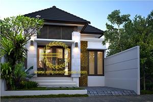 Desain Rumah 1 Lantai 3 Kamar Tidur Lebar 7 meter