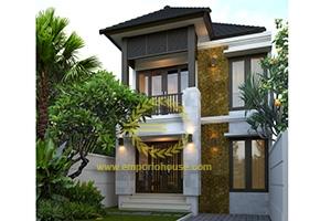 Desain Rumah 2 Lantai 3 Kamar Tidur Lebar 7 meter