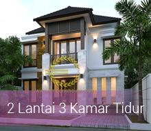 Desain Rumah 2 Lantai 3 Kamar Tidur